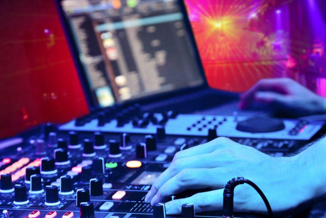 DJ @ work